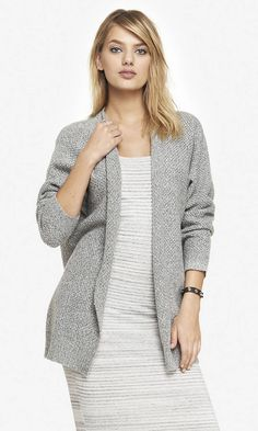 Textured Knit Cover-up — Soft, warm, and neutral. Perfect for colder weather.  http://www.express.com/clothing/textured knit covertoup/pro/9598420/cat360026