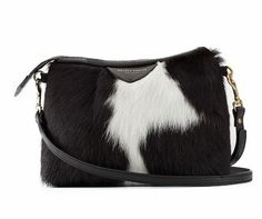 Deadly Ponies : Mr Mini Tuck Fur White Handbag Just as well it's sold out! Black Ocean, White Handbag, Friesian, Sewing Class, Luxury Handbags, Simple Style, Calves, Pony, Shop Now