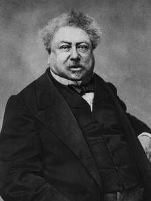 writer Alexandre Dumas, pictured in 1865 (Getty Images)