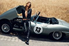 E-type. You just wait here for the mechanic, sweetie. I'll take the car.
