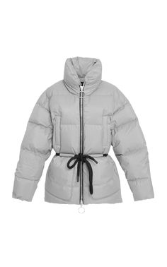 Quilted Texture Paper Mishko Belted This Features Cord Funnelneck Nylon Coat Ienki ienki A And CBwpgq4
