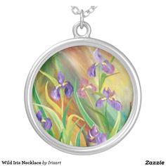 Wild Iris Necklace