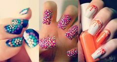 Polka dots nail art designs are easy to do, anyone can create cool and unique designs without spending hours in salon every time. Here are cute, quirky, and incredibly unique polka dots nail art ideas for your inspiration.