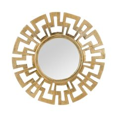 Dimond Home Cast Greek Key Mirror