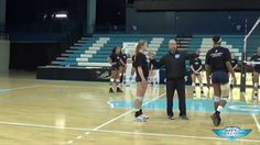 Volleyball Transition Drill - Joe Sagula - Art of Coaching VB  UNC coach Joe Sagula demonstrates a ball control drill that works on transitioning between offense and defense.  See more here: http://www.theartofcoachingvolleyball.com/ball-control-transition-drill-with-joe-sagula/
