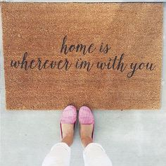 """""""Home is whenever i'm with you"""""""