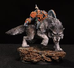Fenrisian Wolf.  SPACE WOLVES CAVARLY