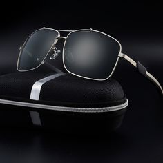 6234f21485a4 Men Polarized Sunglasses Coating Mirror Over Sized Metal Frame Male Eyewear  for Men Sun Glasses UV400