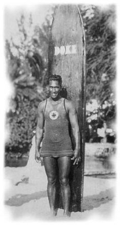 Duke Kahanamoku introduced the spirit of aloha and the joy of riding waves to the first generation of modern surfers