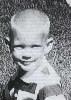 Jeffrey as a small child.