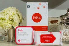 $5 a month for period prep? #RudeNotTo PMS.com #PMS #periodprobs #subscriptionbox #timeofthemonth
