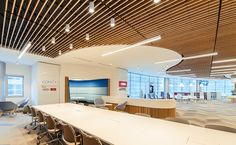 vertical acoustical panel ceiling - Google Search