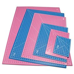 "US Art Supply® 30"" x 42"" PINK/BLUE Professional Self Healing 5-Ply Double Sided Durable Non-Slip PVC Cutting Mat Great for Scrapbooking, Quilting, Sewing and all Arts & Crafts Projects (Choose Green/Black or Pink/Blue Below) Us Art Supply http://www.amazon.com/dp/B00L5I8RJ2/ref=cm_sw_r_pi_dp_iQS3ub18K3BKQ"