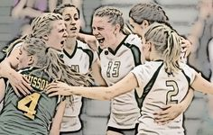 Husson women's volleyball 2013