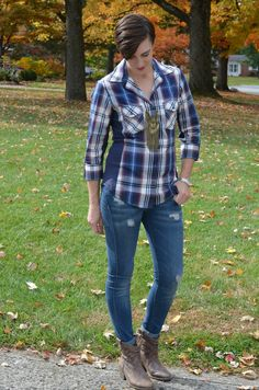 What I Wore Real Mom Style: Mad for Plaid