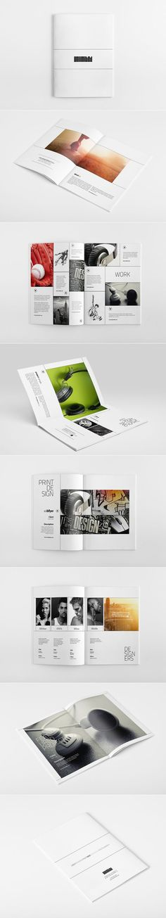 Photo Book Layout Grid Design Graphic