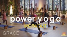 Power Yoga Workout ~ Grace - YouTube