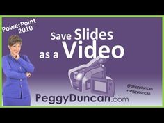 How to Save a PowerPoint 2010 Presentation as a Video (with video)