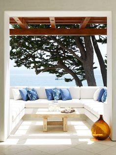 Ambiente na varanda