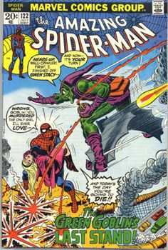 Amazing Spiderman #122 - My most desired Spidey comic (not counting Amazing Fantasy #15 or Amazing Spiderman #1)