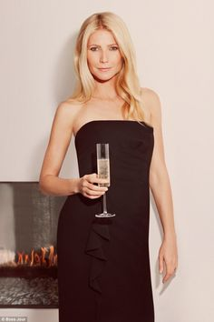 Feeling festive: Gwyneth Paltrow is the star of Boss Jour Pour Femme's new campaign and has shared her Christmas rituals