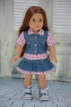 American Girl Doll Clothes   Denim set. by Symidollsclothes, $18.00