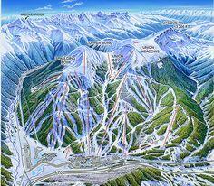 copper mountain colorado   Mountain Colorado Illustration by James Niehues - Copper Mountain, CO ...