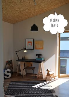 Puistolassa.: Asuntomessut Hyvinkää 2013 Desk, Furniture, Home Decor, Desktop, Decoration Home, Room Decor, Table Desk, Home Furnishings, Office Desk