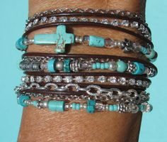 Loveee the boho style and the turquoise