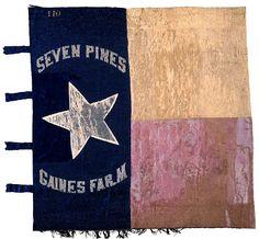 1ST TX INFANTRY FLAG CSA