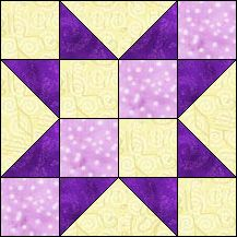 Block of the Day for December 16, 2013 - Indian Star www.quiltpro.com