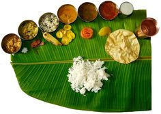 South Indian cuisine is hands down my favourite food in the world. Love the concept of eating of a banana leaf.