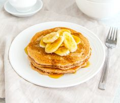 Healthy mummy gingerbread pancakes