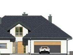 DOM.PL™ - Projekt domu DPS Nebraska CE - DOM DPS1-29 - gotowy koszt budowy Nebraska, Shed, Outdoor Structures, House Design, Farmhouse, Projects, Architecture Design, House Plans, Home Design