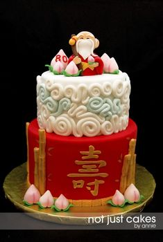 20 Wonderful Image Of Asian Birthday Cake Wise Old Man Cakes