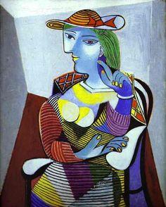 Pablo Picasso >> Retrato de Marie-Thérèse