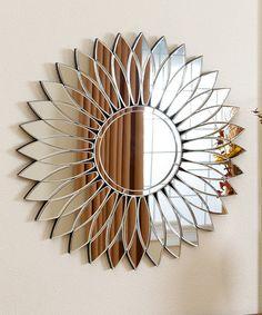 Look what I found on #zulily! Chloe Round Wall Mirror #zulilyfinds