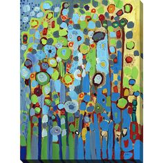 FramedArt.com Jennifer Lommers 'Growing In ' Giclee Print Wall Art