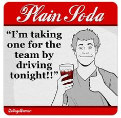 What Youre Saying with Your Drink Choice - Plain Soda