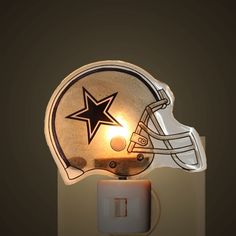 8db2951fa Dallas Cowboys Helmet Night Light