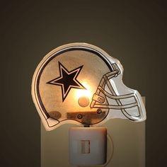 Dallas Cowboys Helmet Night Light