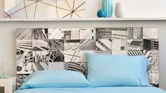 Check out this #DIY headboard from photos by photographer Shane Gidcumb in which we turned into Shutterfly acrylic photo blocks. Click-through for more home decor inspiration on www.Shutterfly.com.