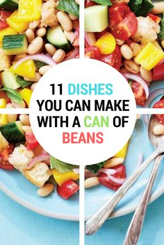A can of beans likely lurks in the back of your pantry. Grab it and make one of these tasty, protein- and fibre-rich meals. Trust us, beans are cool. Quick Pasta Recipes, Yummy Chicken Recipes, Yum Yum Chicken, Quick Easy Meals, Easy Dinner Recipes, Easy Recipes, Soup Recipes, Healthy French Toast, Can Of Beans
