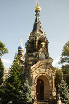 Russian Orthodox Church of Saint Simeon of the Wonderful Mountain, Dresden, Germany