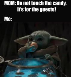 Really Funny Memes, Stupid Funny Memes, Funny Laugh, Funny Relatable Memes, Hilarious, Yoda Meme, Yoda Funny, Star Wars Jokes, Star Wars Drawings