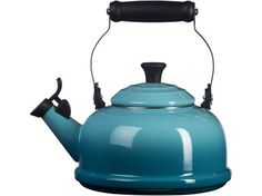 ❤ Kettle Tea Coffee Hot Water Le Creuset Enamel-On-Steel Whistling Le Creuset Tea Kettle, Le Creuset Cookware, Cast Iron Cookware, Enamel Cookware, Decoration, Kitchenware, Kitchen Dining, Dining Room, Kitchen Redo