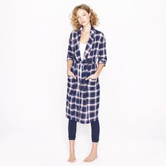 this is probably the most important pin ive ever pinned. i want a LONG FLANNEL LOOKS JUST LIKE THIS robe for christmas morning