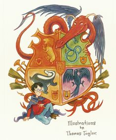 Harry Potter, illustrations by Thomas Taylor