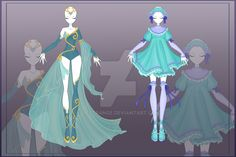 [Close]  Adoptable Outfit Auction 4-5 by LifStrange.deviantart.com on @DeviantArt