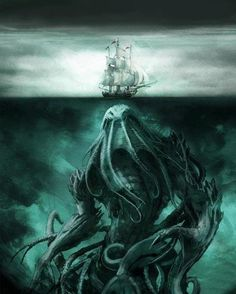 #CthulhuCthursday #Fear of the sea isn't all that irrational. All you need is a healthy respect for oceans & weather.